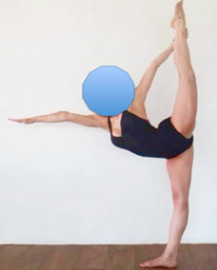 Proper Lock Knee Alignment Standing Bow Bikram Yoga