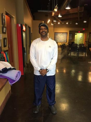 Reggie inspirational yoga story