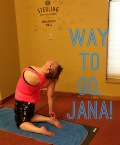 jana rocker camel milestone hot yoga inspiration
