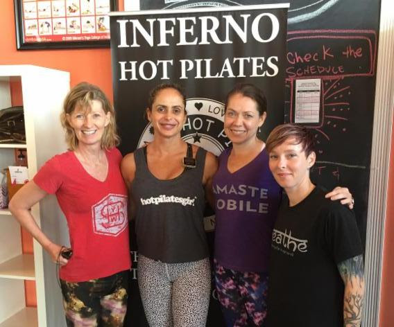 inferno hot pilates, mobile al, sterling hot yoga