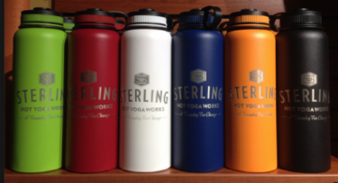 sterling water bottle discount