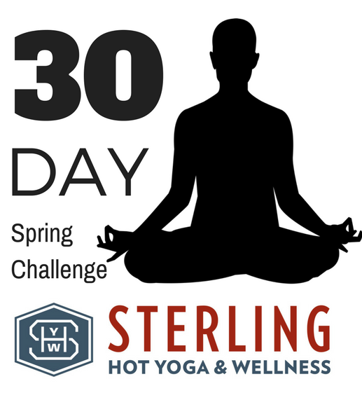 30 Day Yoga Challenge Sterling Hot Yoga Mobile Benefits of Yoga