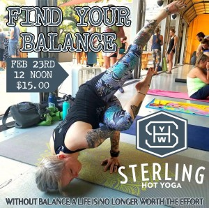 Arm Balance Workshop Sterling Hot Yoga Mobile AL