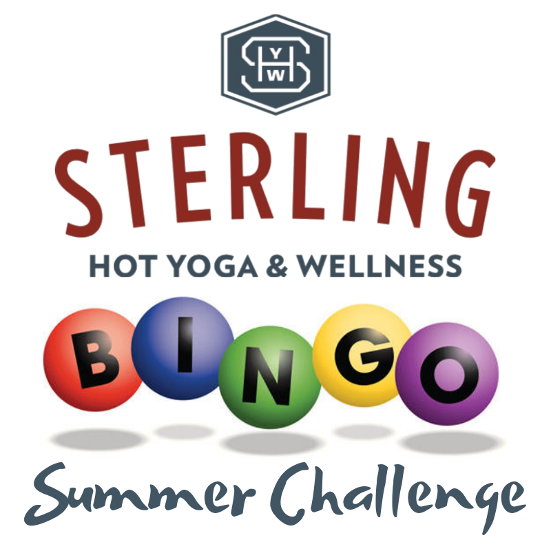 Sterling Hot Yoga Bingo Challenge Mobile AL Summer Challenge