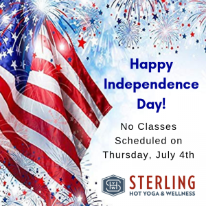Holiday Schedule July 4th Schedule Sterling Hot Yoga Mobile Mobile AL