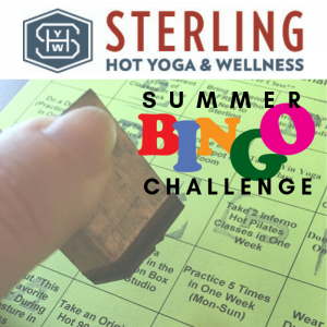 Sterling Summer Challenge Bingo Prizes Grand Prizes Sterling Hot Yoga Mobile AL
